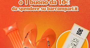 vinci instant win kit da spiaggia Aperol Spritz