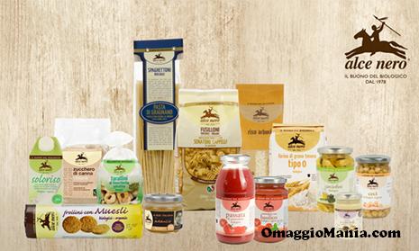 vinci kit di prodotti Alce Nero con IoDonna