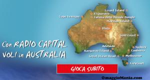 vinci l'Australia con Radio Capital