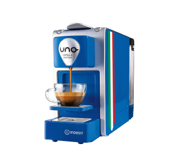vinci macchina caffè UNO con Indesit