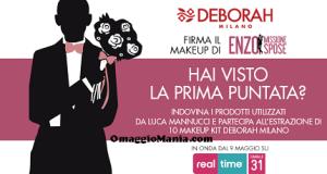 vinci makeup kit Deborah Milano con Missione Spose
