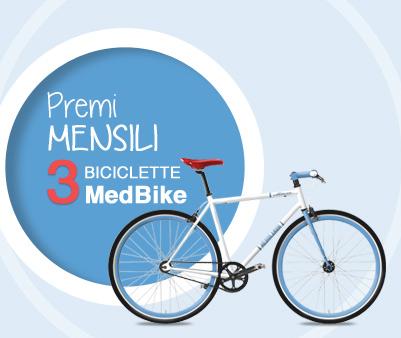 vinci una bicicletta con il concorso Mediolanum Estate 2014