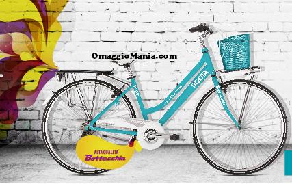 vinci una delle 1.000 bici Bottecchia con Tigotà