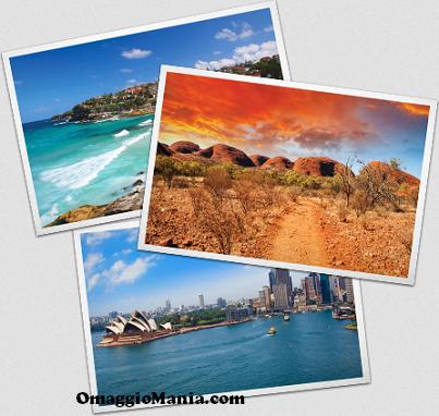 vinci viaggio in Australia con Australian Gold