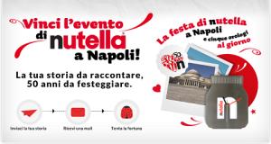vinci weekend a Napoli con Nutella