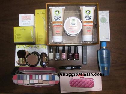 vinto kit cosmetici Una pioggia di makeup