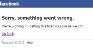Facebook irraggiungibile 19 giugno 2014