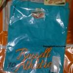 Maglietta omaggio Russell Athletic ricevuta da Enrico