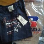 Maglietta omaggio Russell Athletic ricevuta da Ilenia