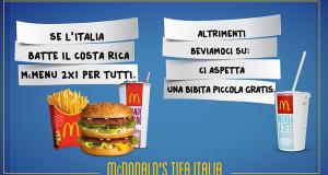 McDonald's tifa Italia per Italia - Costa Rica_w