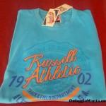 T-shirt gratis Russell Athletic ricevuta da Lucia