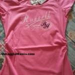 T-shirt gratis Russell Athletic ricevuta da Stefania