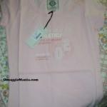 T-shirt omaggio Russell Athletic ricevuta da Luana