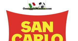 bandiera omaggio con San Carlo