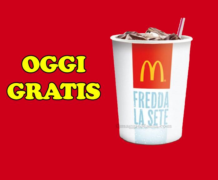 bibita gratis da McDonald's