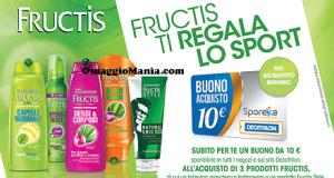 buono Decathlon acquistando Garnier Fructis