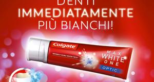buono sconto dentifricio Colgate Max White One Optic_w
