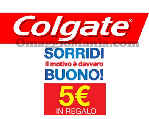 buono spesa 5 euro con Colgate