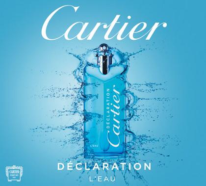 campione omaggio Cartier Déclaration L'Eau
