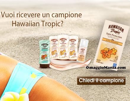 campione omaggio Hawaiian Tropic