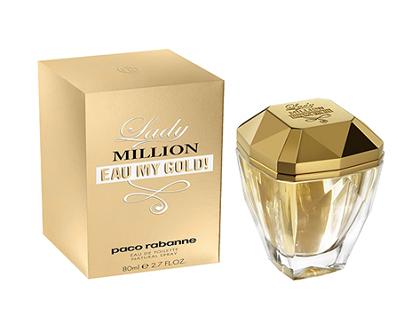 campione omaggio profumo Lady Million Eau my Gold