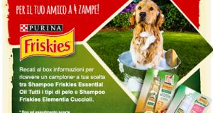 campione omaggio shampoo per cani Friskies da Iper La Grande I