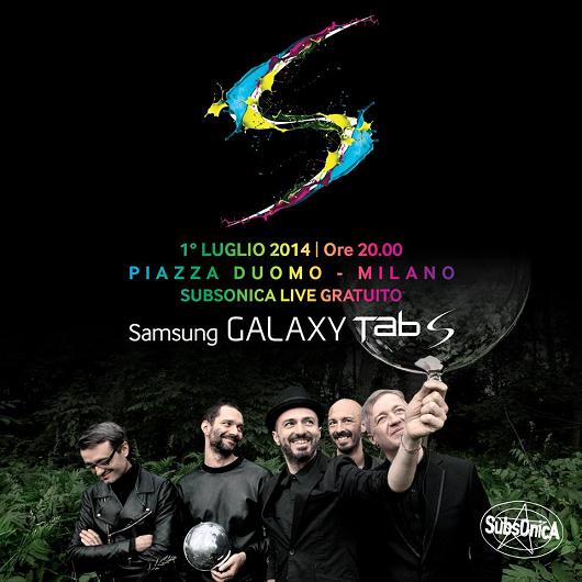 concerto gratuito Subsonica a Milano