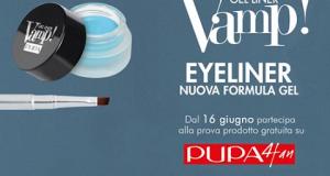 diventa tester eyeliner Vamp! Pupa Milano