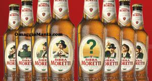 entra nell'etichetta Birra Moretti