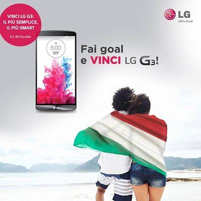 fai goal e vinci LG G3