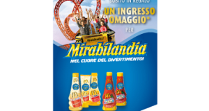 ingresso omaggio Mirabilandia 2x1 con Develey