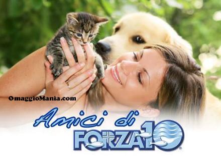 sacco cibo per cani omaggio da FORZA10