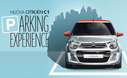 vinci Citroën C1 con C1 Parking Experience