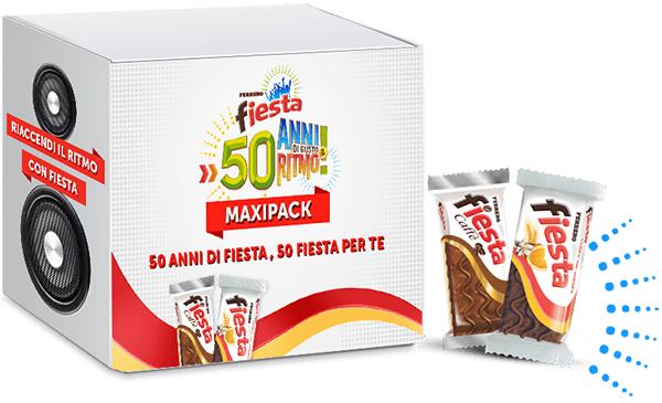 vinci Maxipack Fiesta instant win