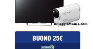 vinci Sony con Euronics Il leone nel pallone