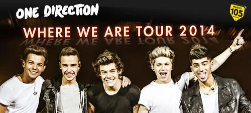 vinci concerto dei One Direction con Radio 105