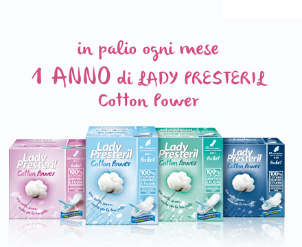 vinci fornitura di Lady Presteril Cotton Power