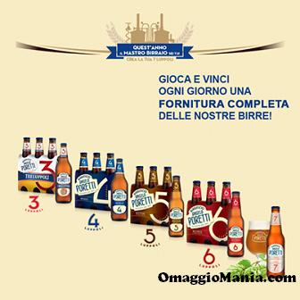 vinci fornitura di birra Angelo Poretti