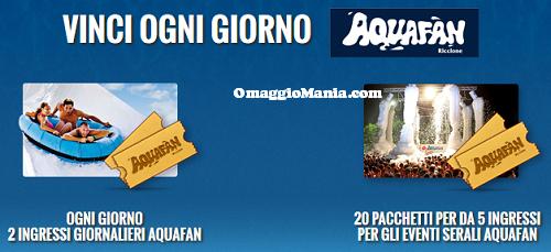 vinci ingresso gratis Aquafan