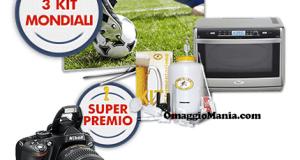 vinci kit Mondiali con COOP Online