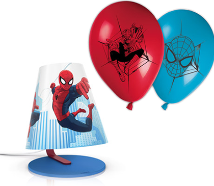 vinci lampada Spiderman con Philips