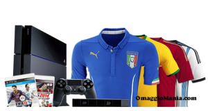 vinci maglietta o PS4 con LiveScore