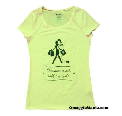 vinci t-shirt Rainbow Rabbit Tiffo&Co