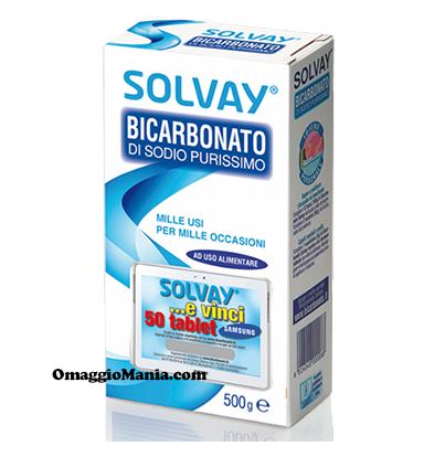 vinci tablet Samsung con Solvay