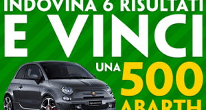 vinci una 500 Abarth con Paddy Power