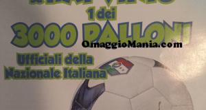 vinci uno dei 3.000 palloni della Nazionale