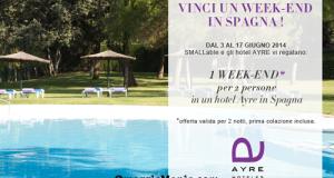 vinci weekend in Spagna acon Smallable
