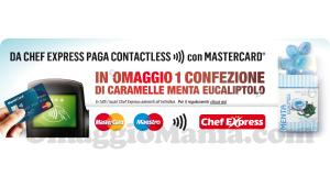 Caramelle omaggio da Chef Express
