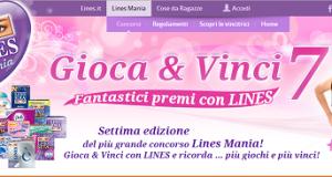 Gioca e Vinci con Lines Mania7