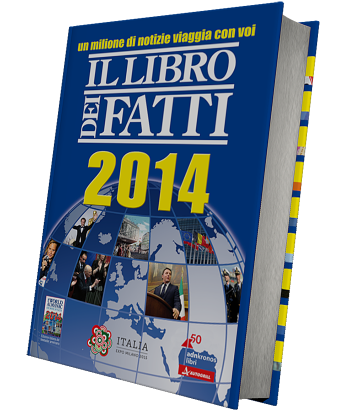 Libro dei Fatti 2014 omaggio da Autogrill